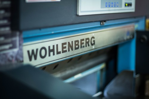 Image of a Wohlenberg printing machine