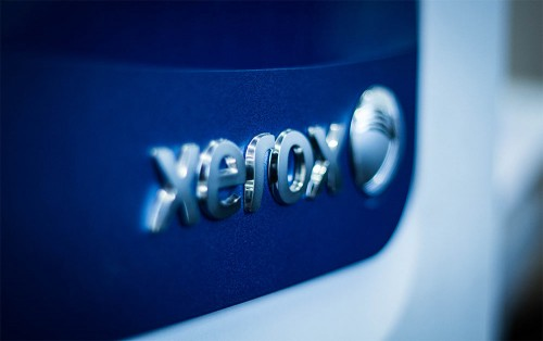 Image of a Xerox digital printer